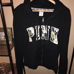 Black hoodie from PINK